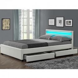 "Moderni lova ""LYON"" su patalynės dėže - J"