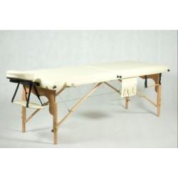Medinis 2 segmentų masažo stalas - Fj