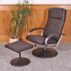 Relaksacinė kėdė N44 su kėdute - H