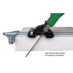 Rankinio putplasčio pjovimo įrankio kampinio pjovimo priedas F-40