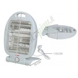 Kvarcinis šildytuvas 400/800W - MAX
