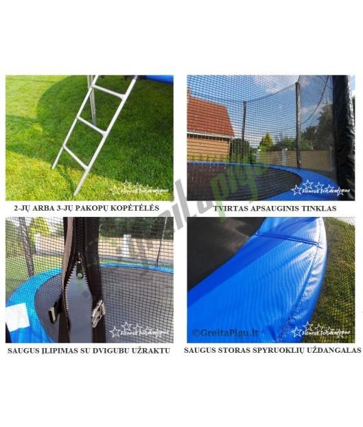 305cm skersmens batutas - LETIX/ IONICS