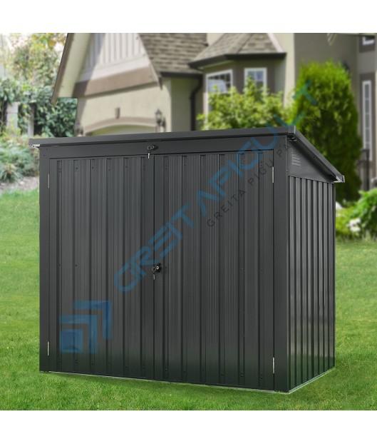 Metalinė šiukšliadėžių laikymo stoginė 1,6m²
